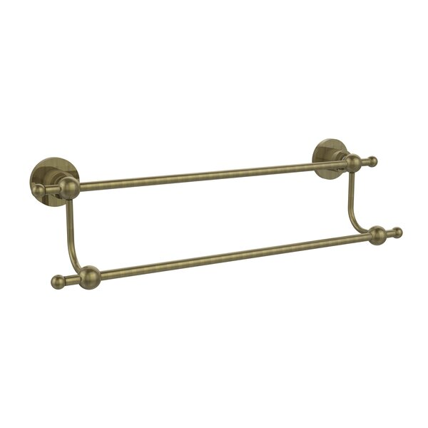 Astor Place Double Wall Mounted Towel Bar by Allied Brass