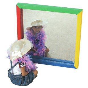 Children's Factory Soft Frame Flat Accent Mirror
