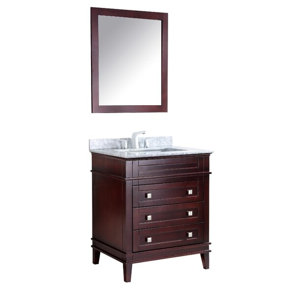Yves 36 Single Bathroom Vanity Set with Mirror by Darby Home Co