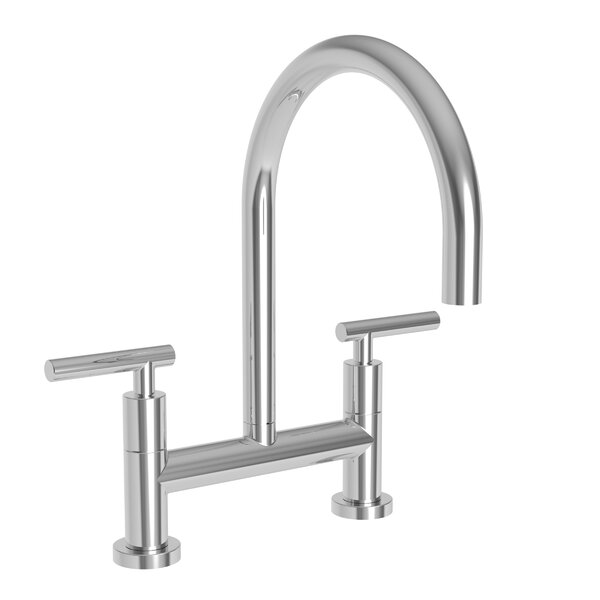 East Linear Kitchen Bridge Faucet by Newport Brass Newport Brass