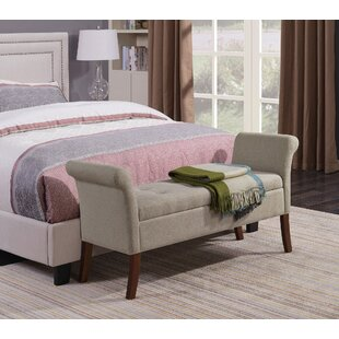 Suzanne Upholstered Storage Bench by Three Posts