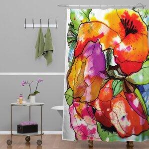 Wonderful CayenaBlanca Big 2 Shower Curtain