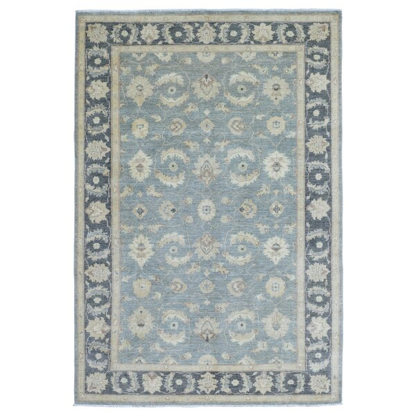 One-of-a-Kind Ardith Hand Woven Blue Area Rug by Isabelline