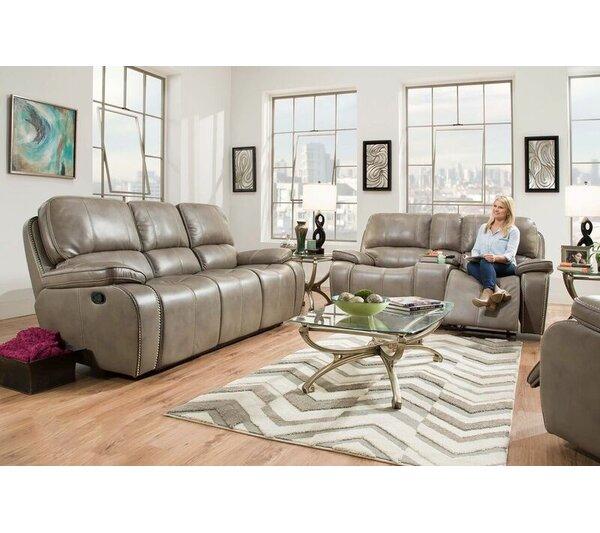 Huckabee Reclining Configurable Living Room Set by Red Barrel Studio Red Barrel Studio