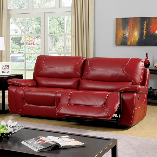 Excellent Brands Lockheart Reclining Sofa by Latitude Run by Latitude Run