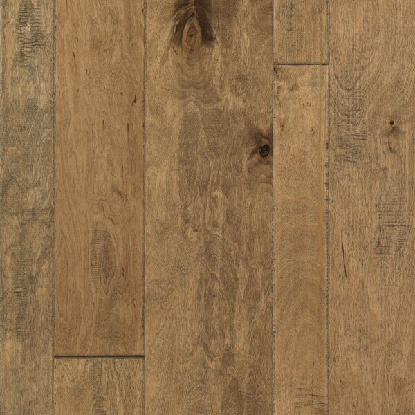 Allegra Random Width Engineered Birch Hardwood Flooring in Butternut Birch by Welles Hardwood