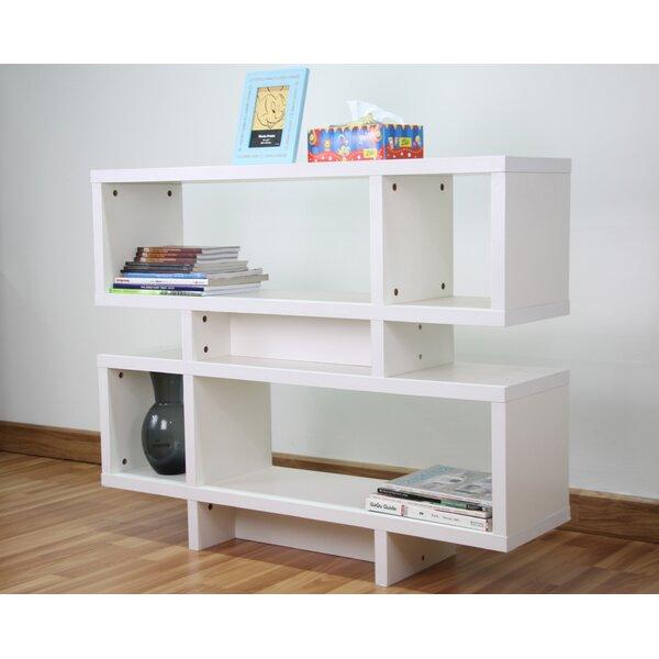 Goldsby Geometric Bookcase By Ebern Designs