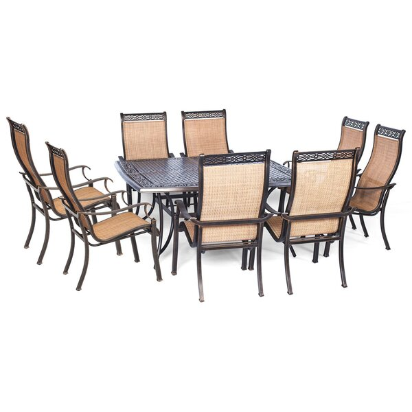 Barras 9 Piece Contemporary Dining Set by Darby Home Co
