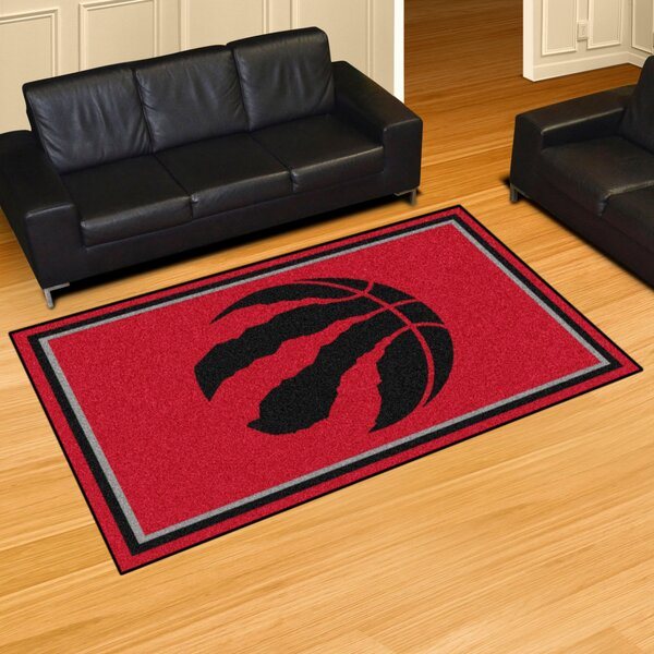 Nba - Toronto Raptors 5x8 Doormat By Fanmats.