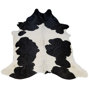 Extra Large Brazilian Cowhide Black & White Area Rug ByChesterfield Leather