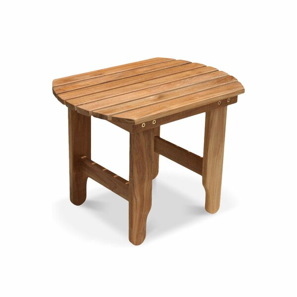 Osborn Solid Wood Side Table by Rosecliff Heights