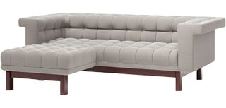 "George Left Hand Facing 86"" Apartment Sectional by TrueModern SKU:DA163507 Information"