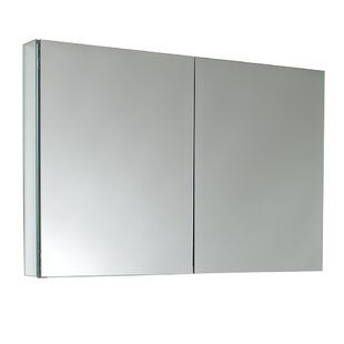 39 5 X 26 13 Recessed Or Surface Mount Frameless Medicine Cabinet