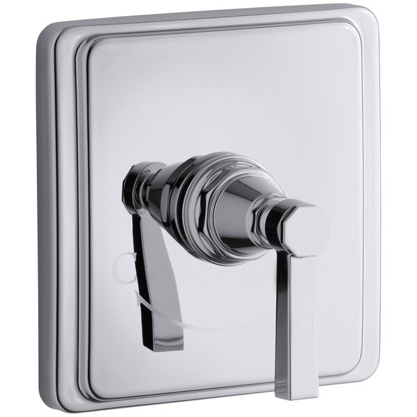 Pinstripe Valve Trim with Pure Design Lever Handle for Thermostatic Valve, Requires Valve by Kohler