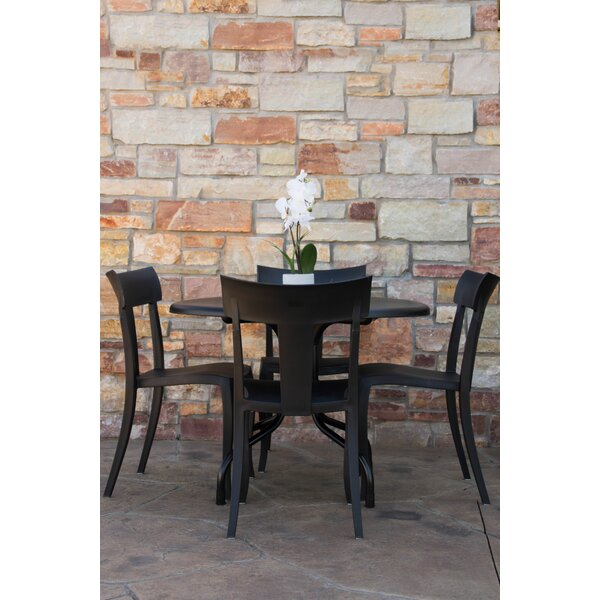 Sletten Patio 5 Piece Dining Set by Ebern Designs