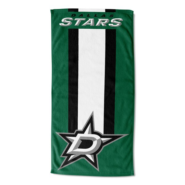 NHL Zone Read Beach Towel by Northwest Co.