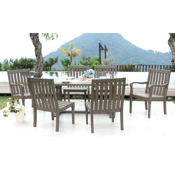 Windell 7 Piece Patio Dining Set by Highland Dunes