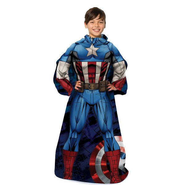 Captain America - First Avenger Throw by Northwest Co.