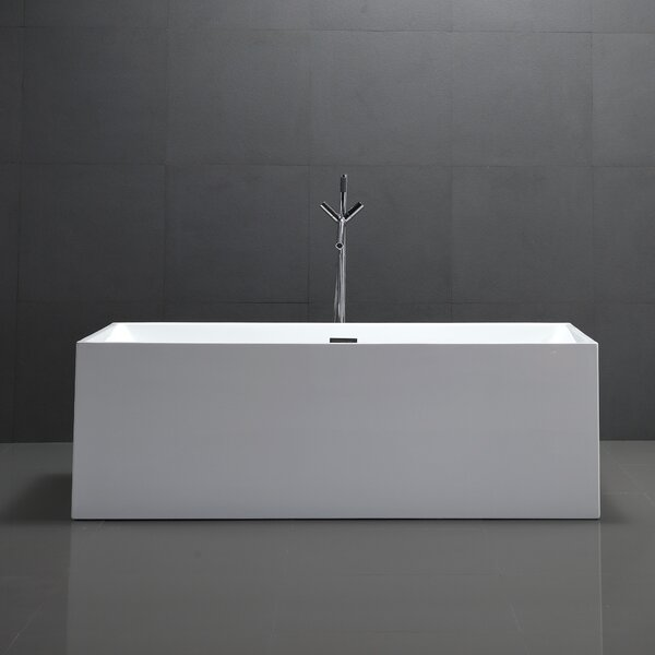 66.5 x 31.5 Freestanding Soaking Bathtub by Vanity Art