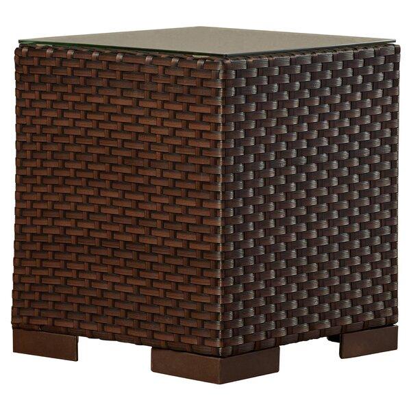 Lorentzen Wicker Side Table by Brayden Studio