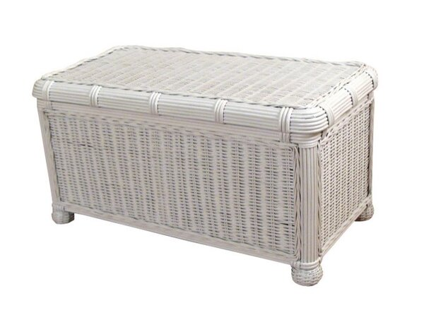 Astley Wicker Trunk by Beachcrest Home