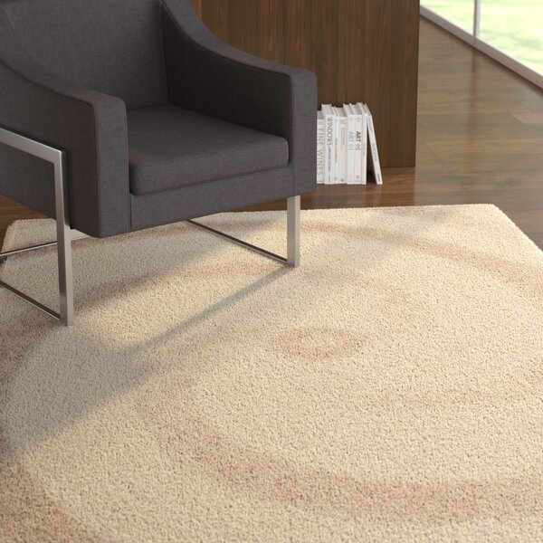 Coolidge Cream/Beige Area Rug by Ebern Designs