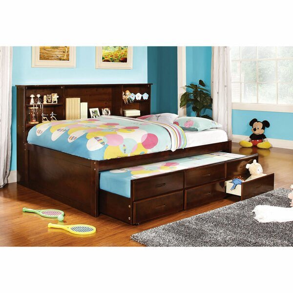 MoretinMarsh Captain Bed with Trundle and Drawers by Harriet Bee