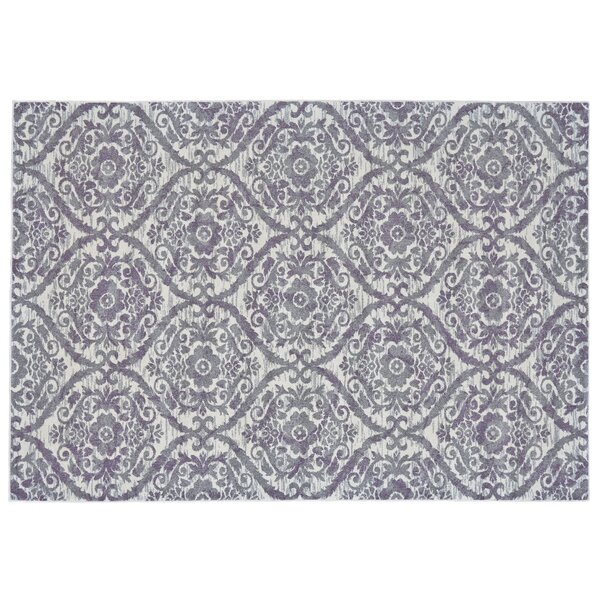 Gharass Gray Area Rug by Bungalow Rose