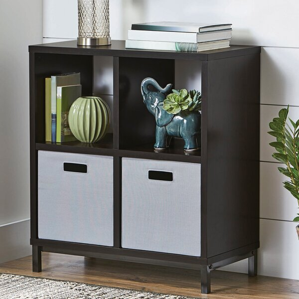 Alexza Storage Cube Bookcase By Latitude Run