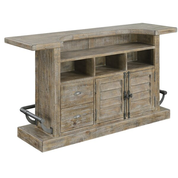 Clintwood Bar with Wine Storage by Three Posts Three Posts