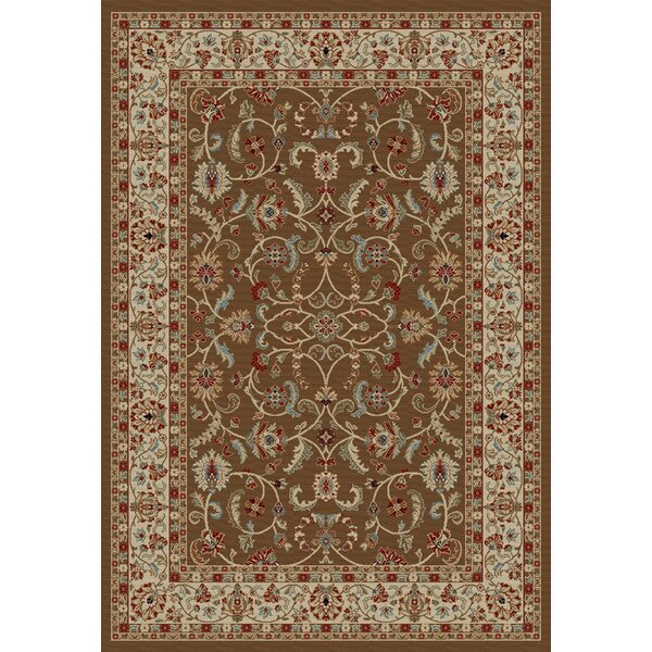 Hometown Classic Keshan Chocolate Area Rug by Mayberry Rug