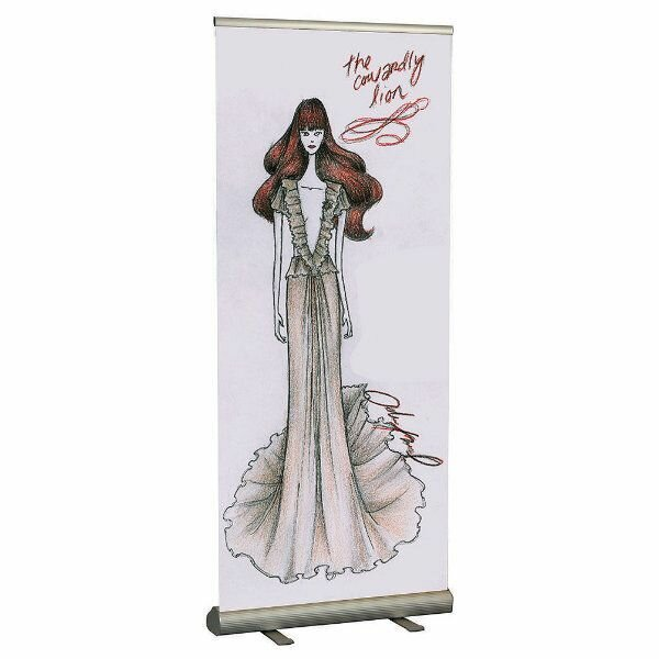 Freestanding Smart Roll Banner Stand by MT Displays