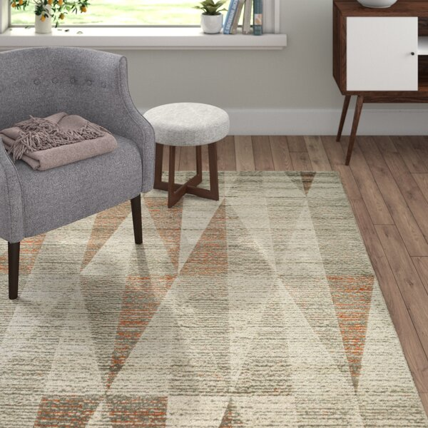 Meira Light Gray Area Rug by Langley Street