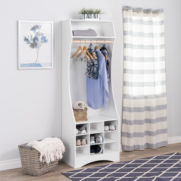Norberg Compact Wardrobe Armoire By Winston Porter by Winston Porter Comparison