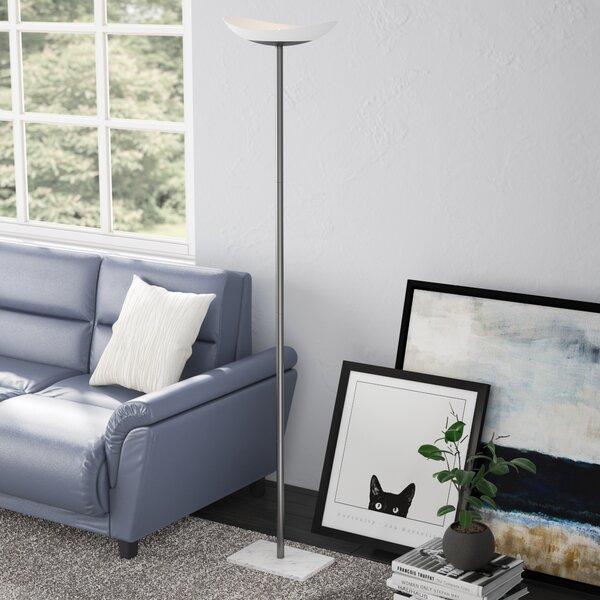 Kistler 71 LED Torchiere Floor Lamp by Latitude Run