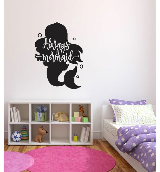 Hogle Always a Mermaid Vinyl Wall Decal by Zoomie Kids