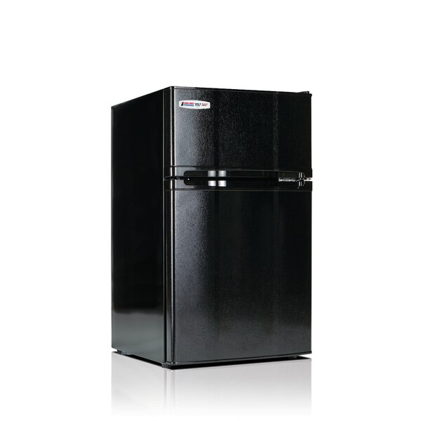 Safe Plug 3.1 cu. ft. Compact Refrigerator with Freezer by Microfridge