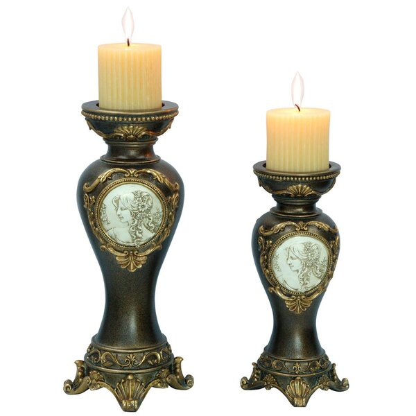 2 Piece Votive Candle Holder Set by ORE Furniture