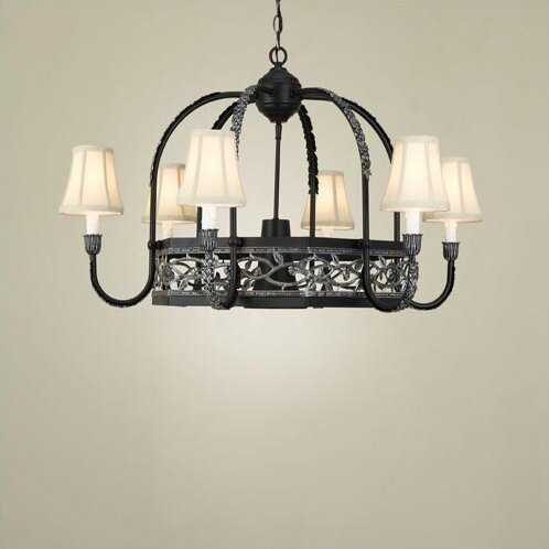 Napa Chandelier Pot Rack by Hi-Lite