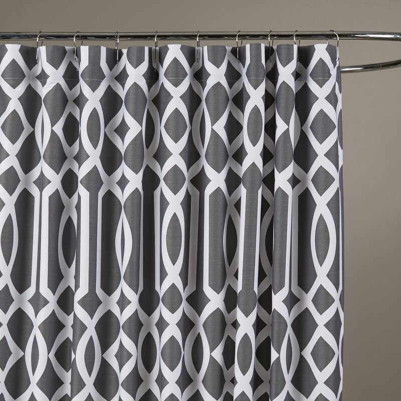 tan and gray shower curtain. Irene Shower Curtain Curtains You ll Love  Wayfair