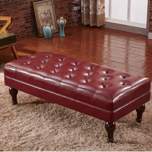 Premium Faux Leather Bench..