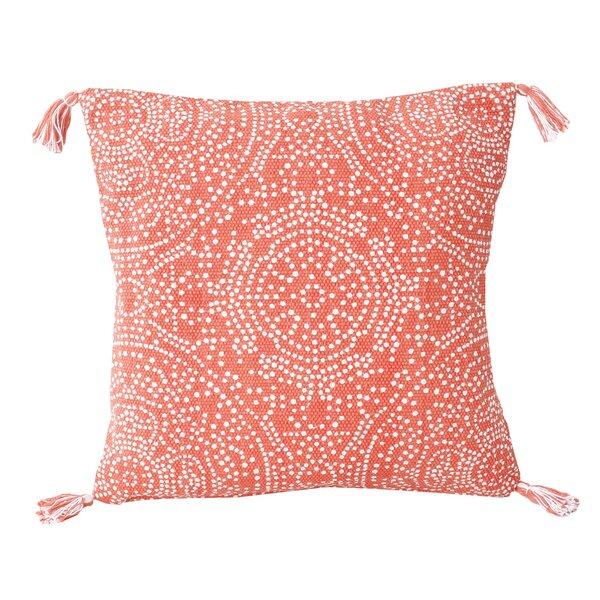 Cherree Reversible Dot Cotton Throw Pillow by Bungalow Rose