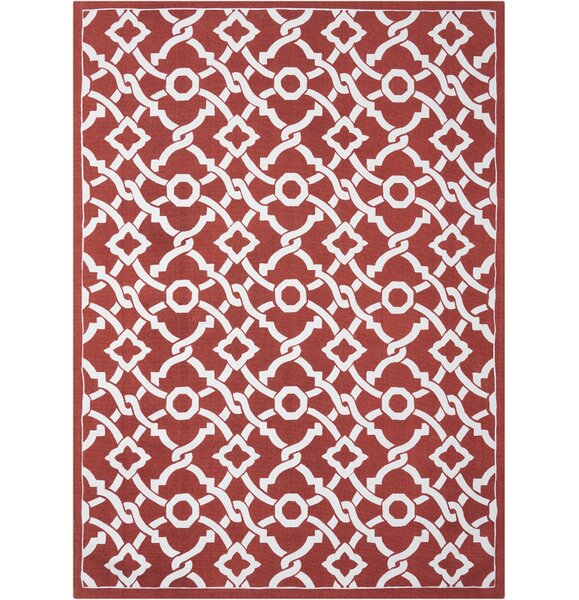 Art House Artistic Twist Red Area Rug by Waverly