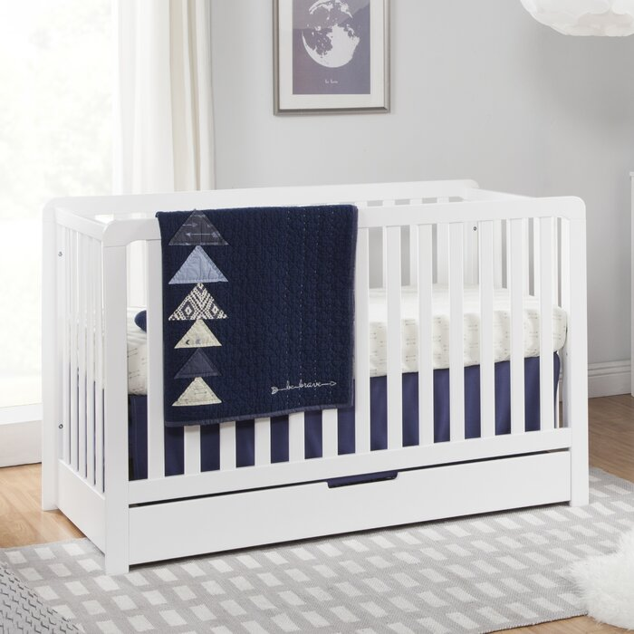 Colby 4 In 1 Convertible Crib With Storage