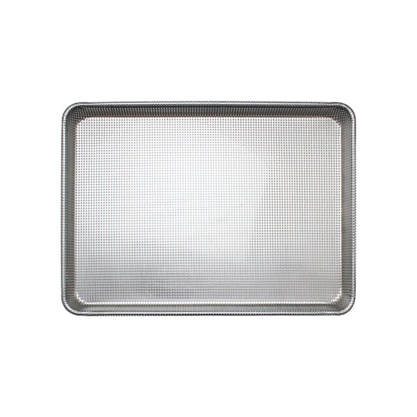 Half Size Fully Perforated Glazed Aluminum Baking Sheet by Thunder Group Inc.