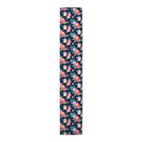 Dolphus Floral Table Runner by House of Hampton