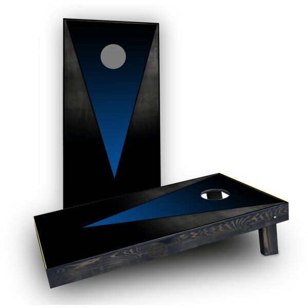 Triangles Light Weight Cornhole Game Set by Custom Cornhole Boards
