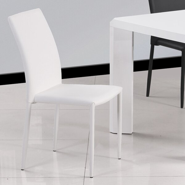 Farwell Upholstered Dining Chair (Set of 4) by Wade Logan Wade Logan