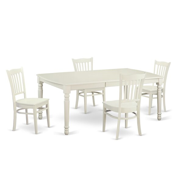Carmel 5 Piece Dining Set by August Grove August Grove
