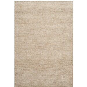 McArthur Hand-Knotted Beige Area Rug
